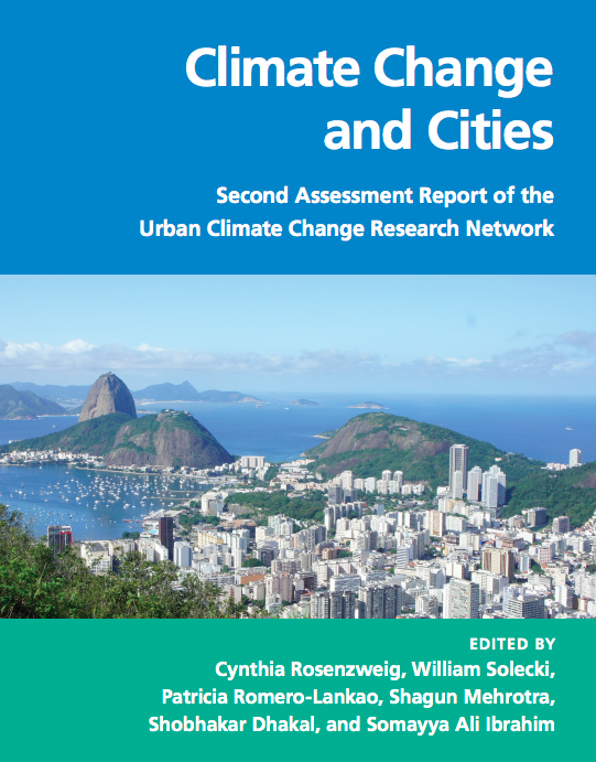Cover of Urban Climate Change Research Network Second Assessment Report on Climate Change and Cities (ARC3.2)