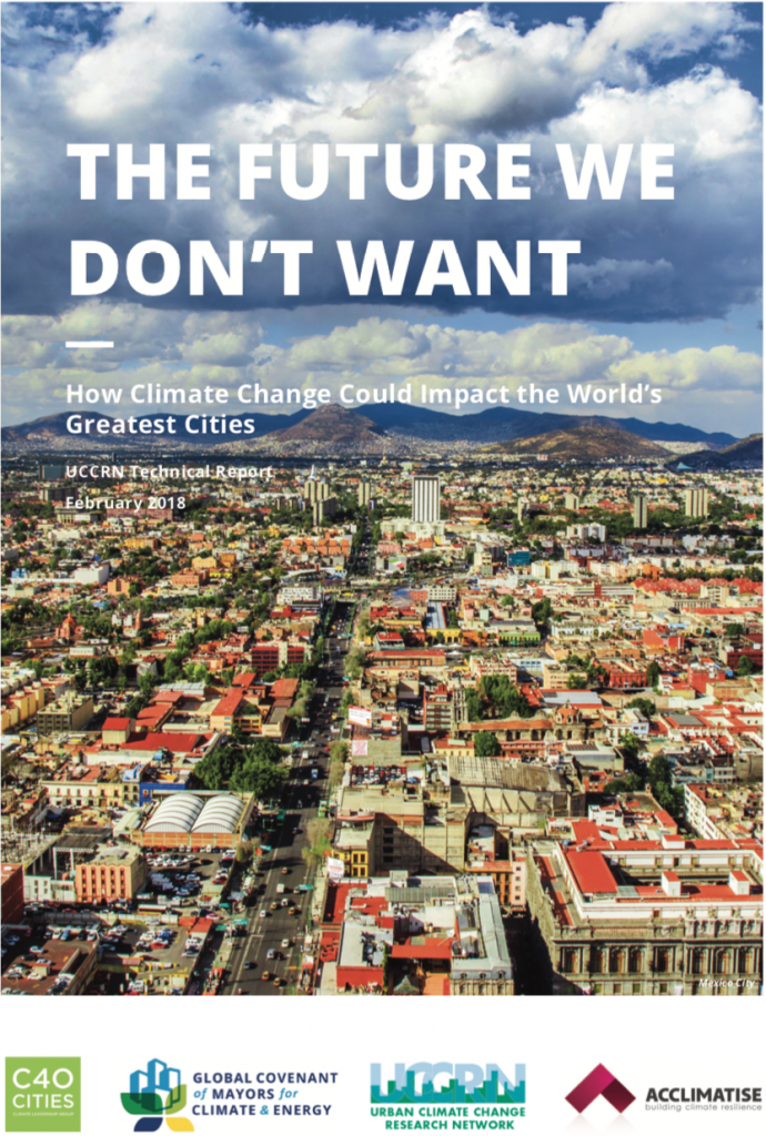 Cover of The Future We Don't Want: How Climate Change Could Impact the World's Greatest Cities